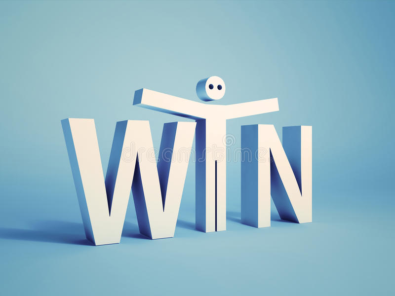 Download Win concept stock illustration. Illustration of idea - 23900365