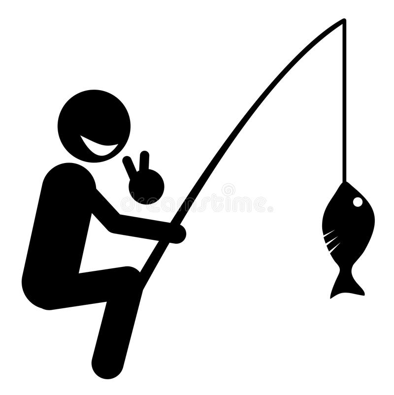 Download Win fisheries stock vector. Image of practice, doll, character - 31863435