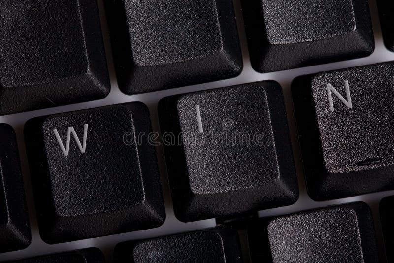 Download WIN online stock image. Image of word, symbol, keys, technician - 10307651