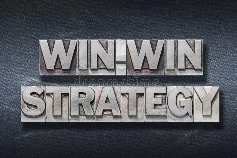 Win-win strategy den stock photography