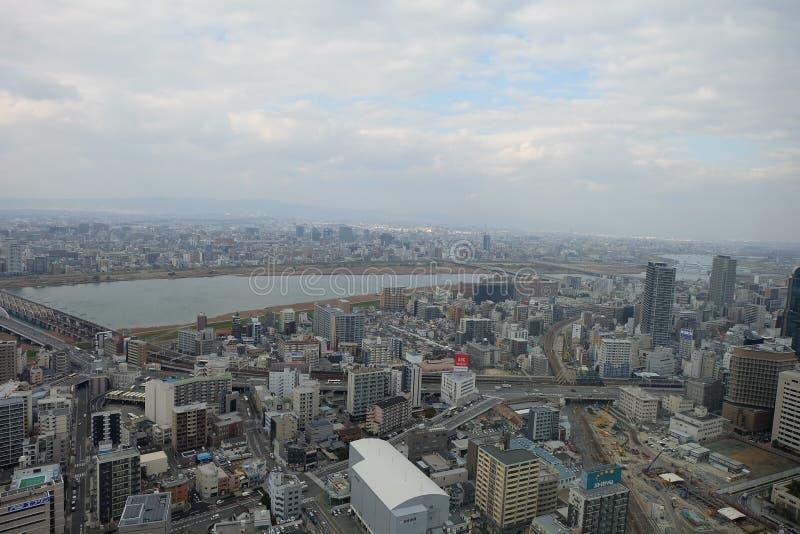 Win Towers Osaka Umeda Holliday, Landmark, Travel, Japan stock photography