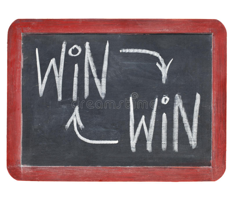 Download Win-win Concept On Blackboard Stock Images - Image: 21734564