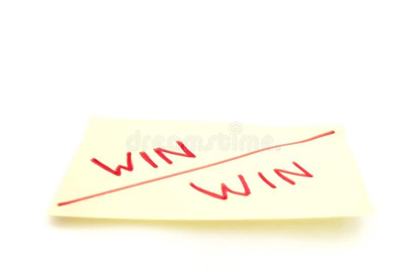 Win winnen royalty-vrije stock foto's