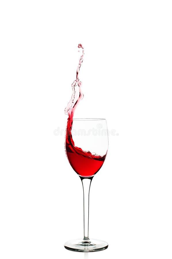 Wina pluśnięcie obrazy stock
