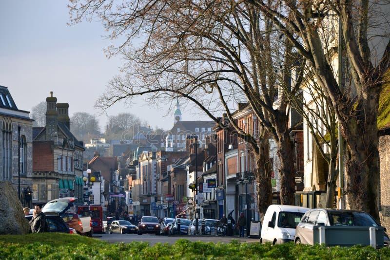 Winchester, Αγγλία στοκ φωτογραφία