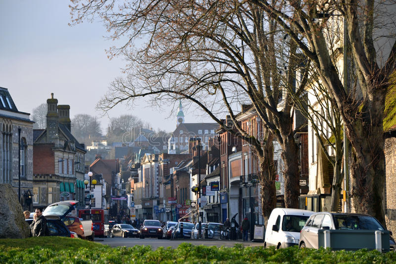 Winchester, England stock photography