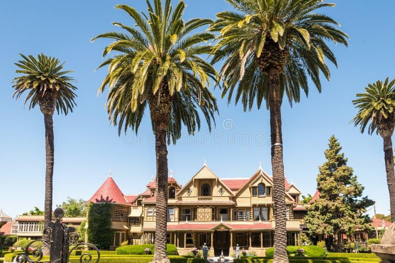 Winchester-Geheimnis-Haus in San Jose lizenzfreie stockbilder