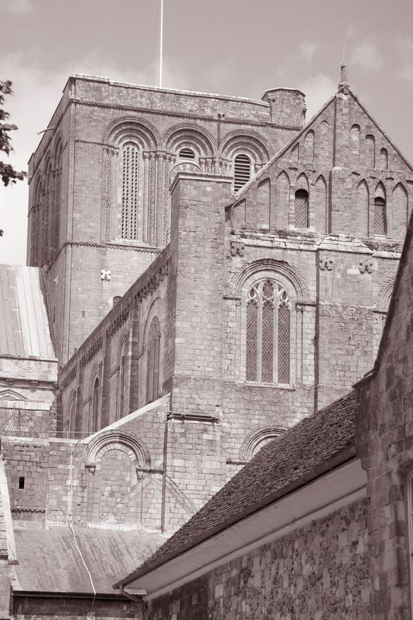 Download Winchester katedra, Anglia obraz stock. Obraz złożonej z biały - 28961593