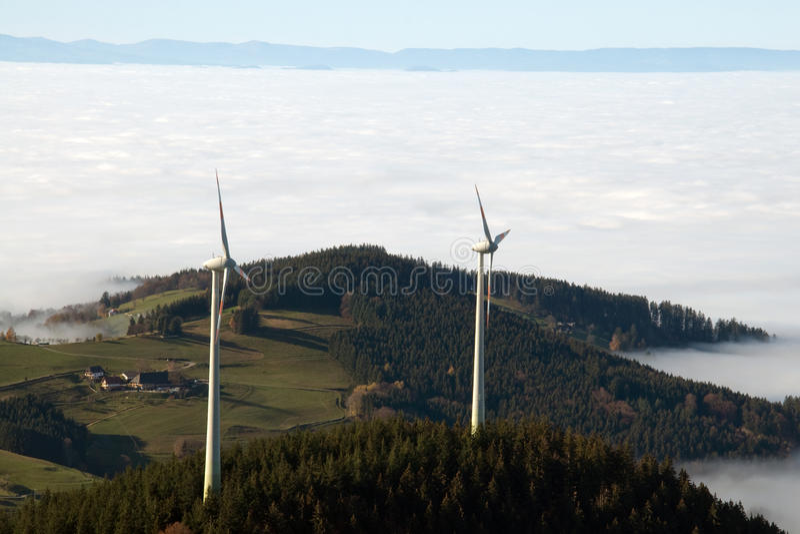 Wind royalty-vrije stock foto