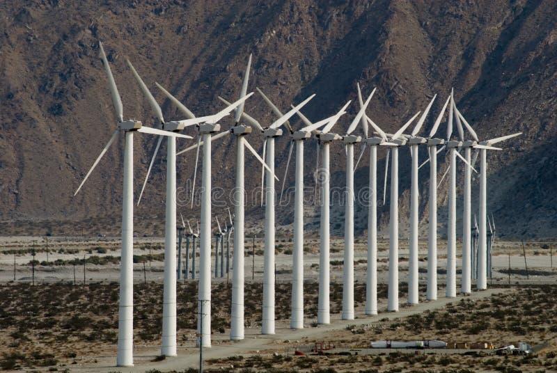 Wind-Bauernhof stockfotografie
