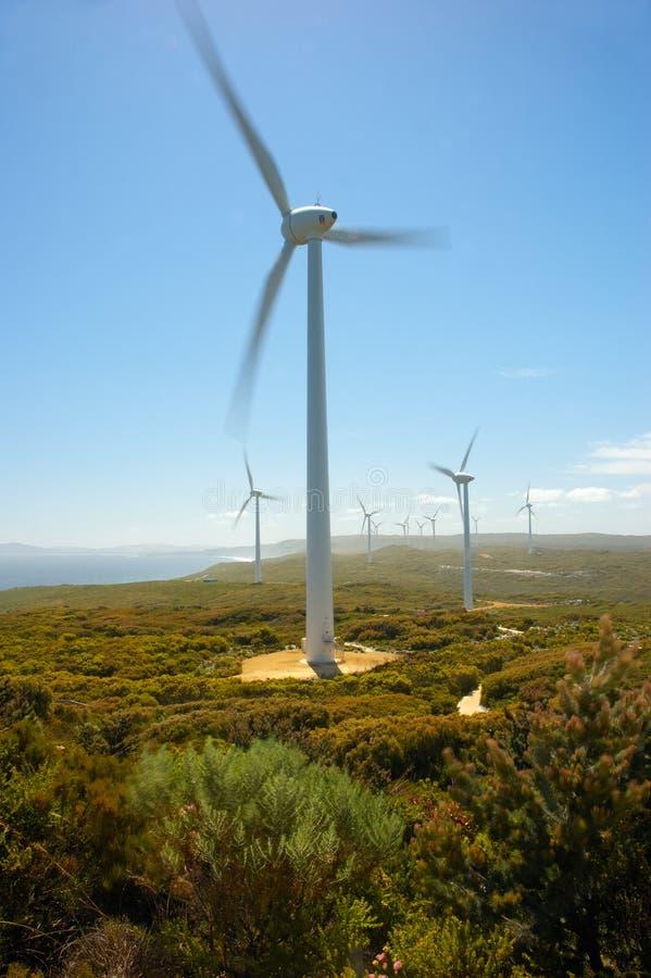 Wind-Bauernhof lizenzfreie stockbilder