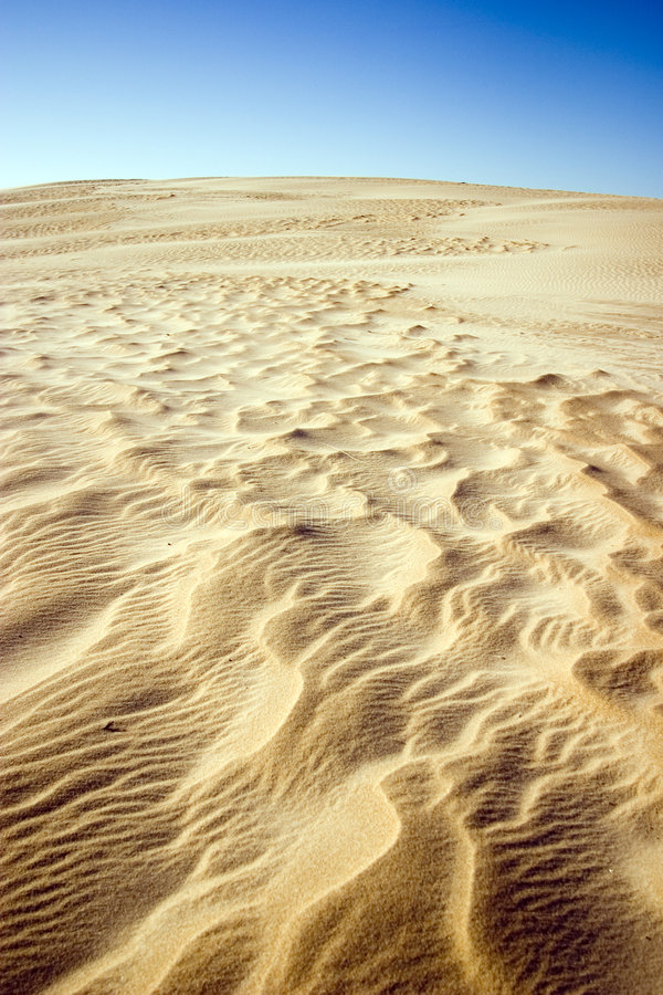 Wind blown sand royalty free stock image