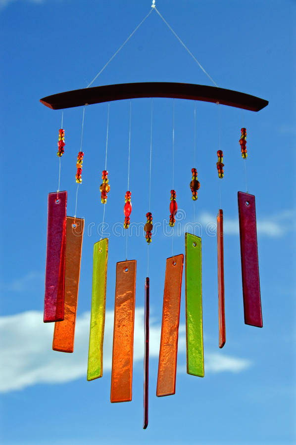 Free Wind Chimes Of Glass Stock Photography - 15653422