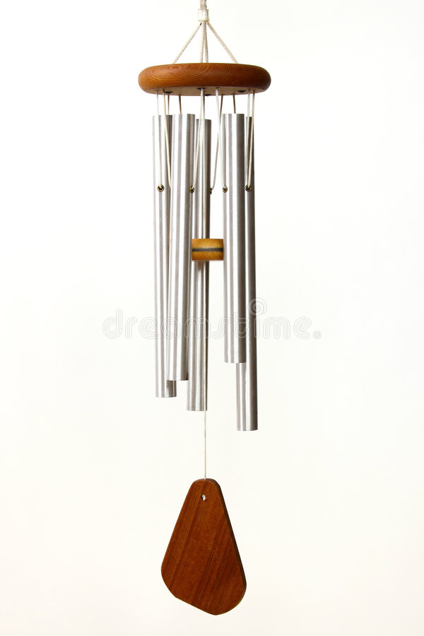 Free Wind Chimes On White Background Royalty Free Stock Image - 9275906