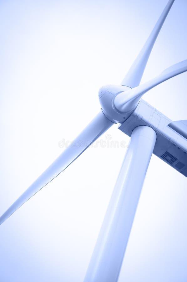 Wind energie royalty-vrije stock afbeeldingen