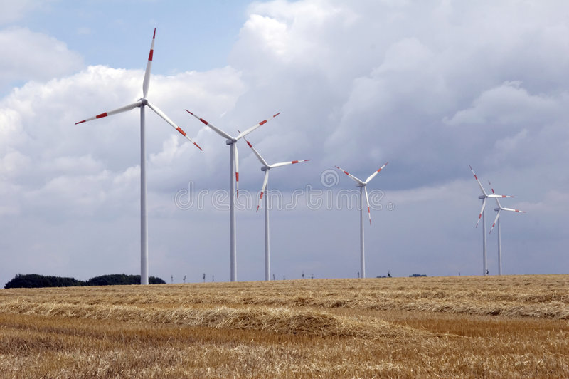 Wind energy 01 stock photos