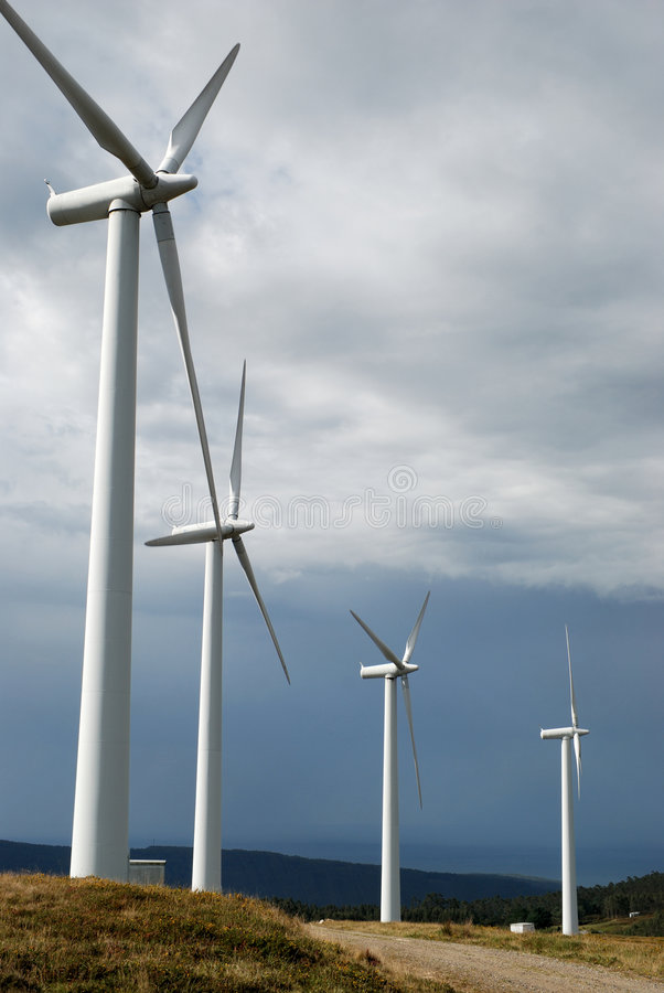 Free Wind Energy 2 Stock Image - 3450161