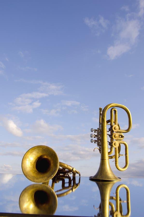 wind för instrumentspegel två arkivfoton