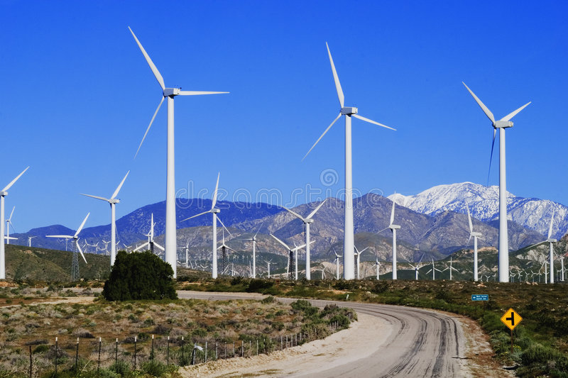 Wind Farm stock images