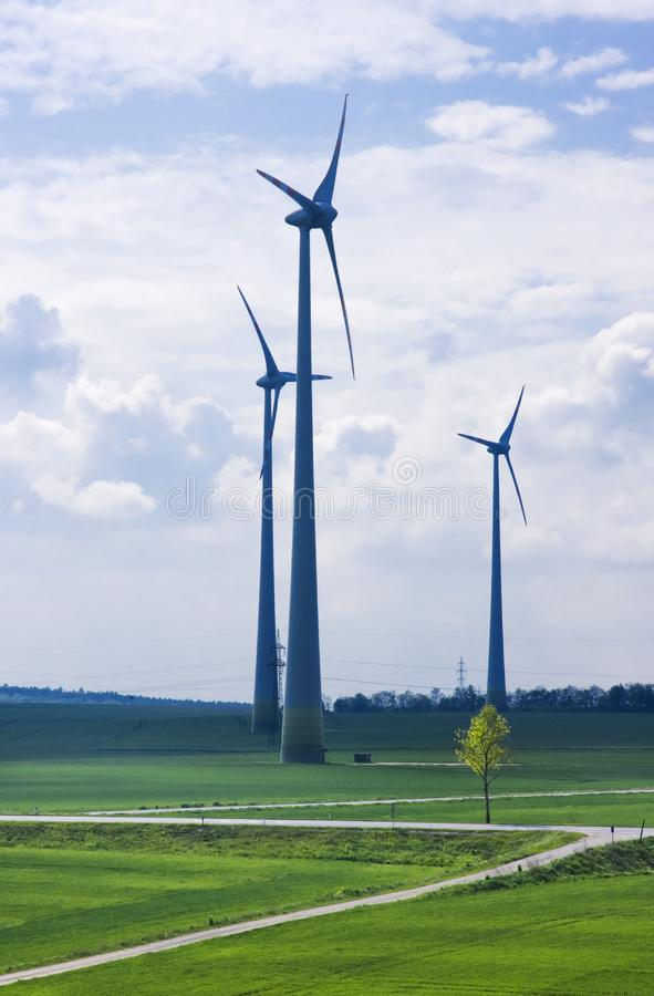 Download Wind farm stock image. Image of energy, group, green - 19403445