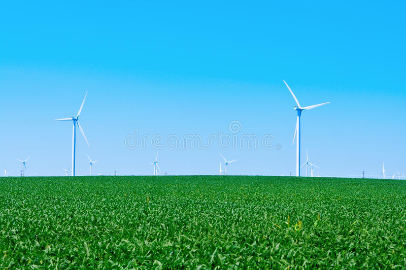 Download Wind Farm stock photo. Image of alternative, landscape - 20048620