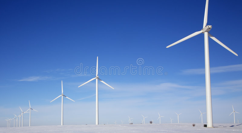 Download Wind Farm stock image. Image of mill, rotation, open, generate - 2075219