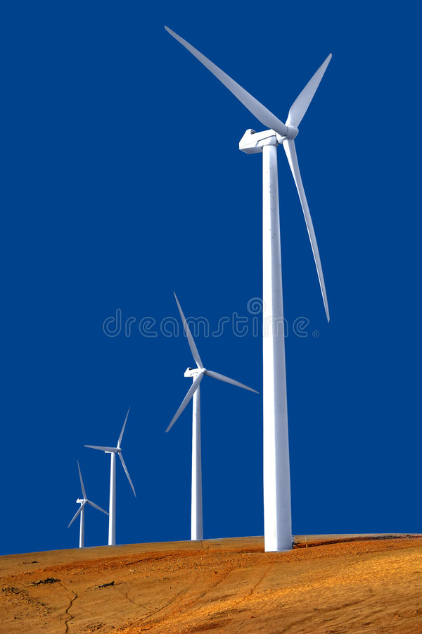 Download Wind Farm stock image. Image of powerful, green, land - 2320607