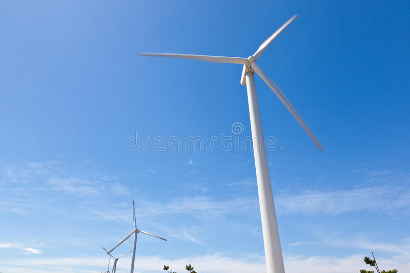 Download Wind farm stock image. Image of nature, color, bright - 26264139