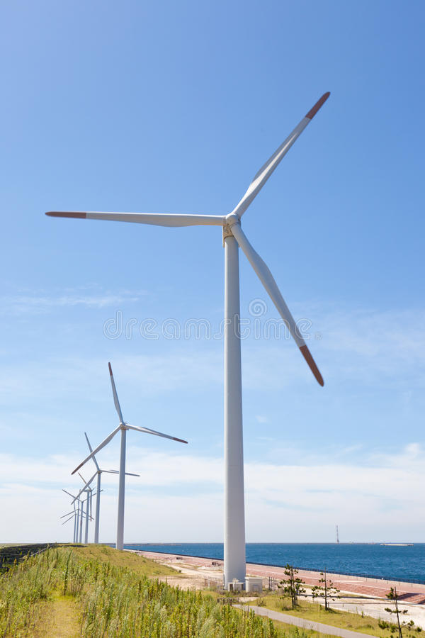 Download Wind farm stock image. Image of bright, farm, clear, generator - 26342599