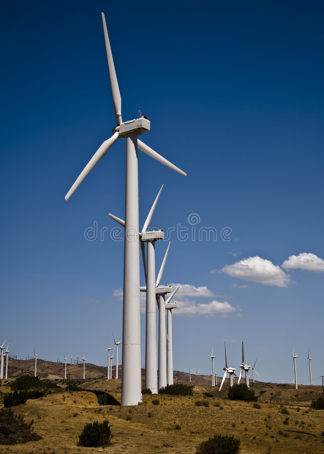 Download Wind Farm stock photo. Image of environment, california - 3080100