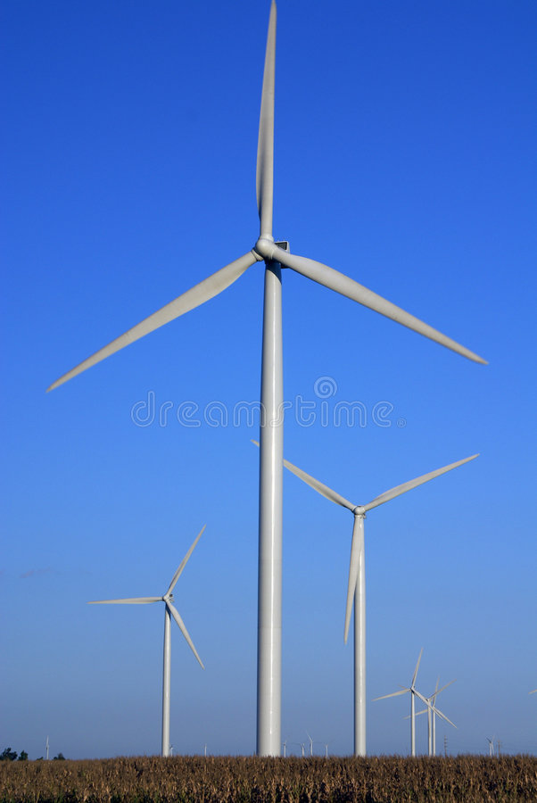 Download Wind Farm stock photo. Image of background, power, wind - 3258898
