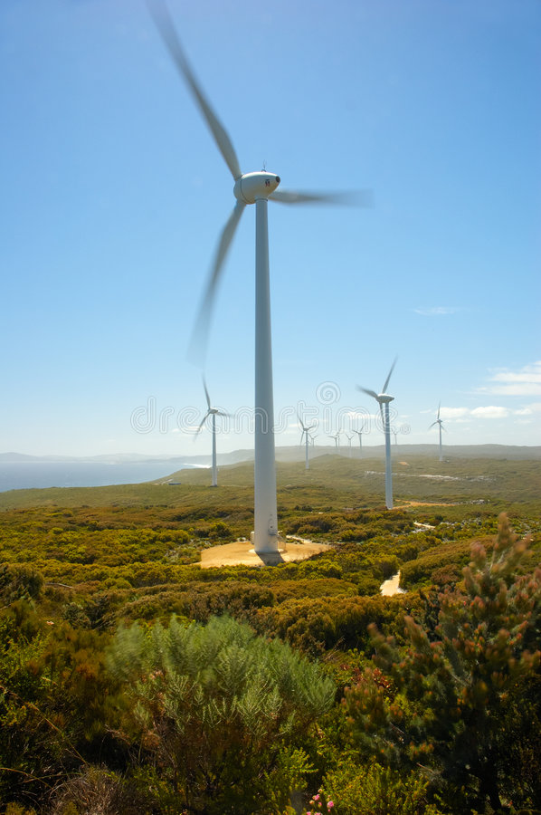 Download Wind Farm stock image. Image of alternative, electric, ecologically - 703219