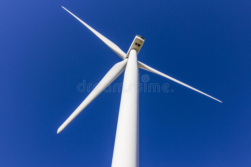 Wind Farm in Central Indiana. Wind and Solar Green Energy areas are becoming very popular in farming communities IV. Wind Farm in Central Indiana. Wind and Solar stock photography