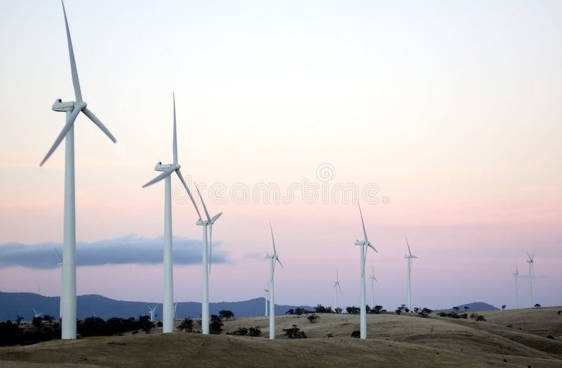 Download Wind Farm II stock image. Image of airstreams, source, breeze - 542009
