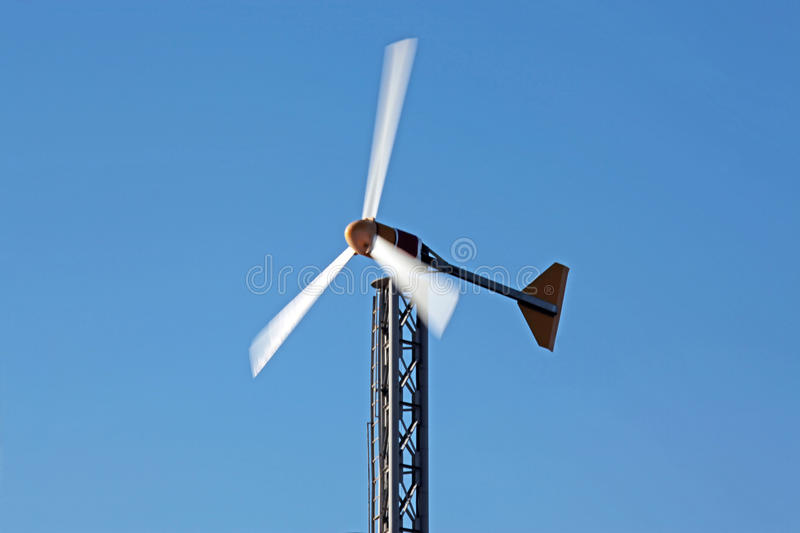 Download Wind generator stock image. Image of power, modern, turbine - 26895375