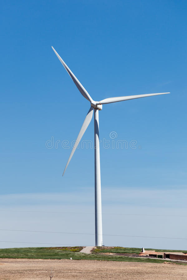 Wind-Generator stockfotografie