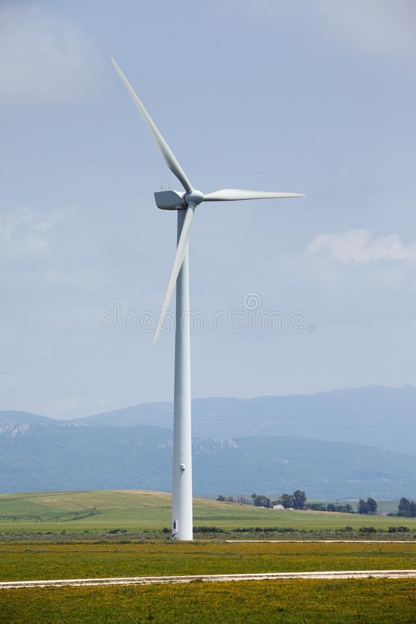 Wind-Generator lizenzfreies stockfoto