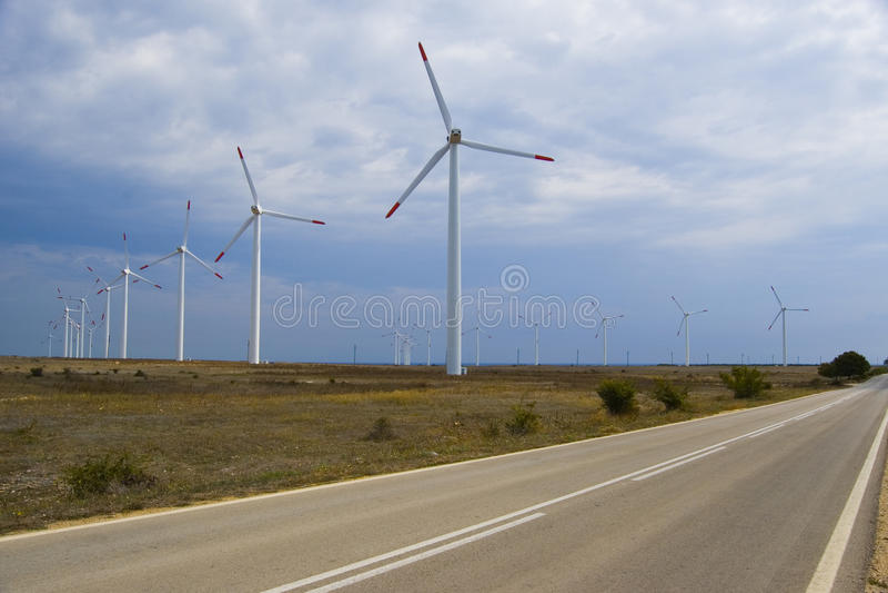 Download Wind generators stock photo. Image of ecological, alternative - 10771218