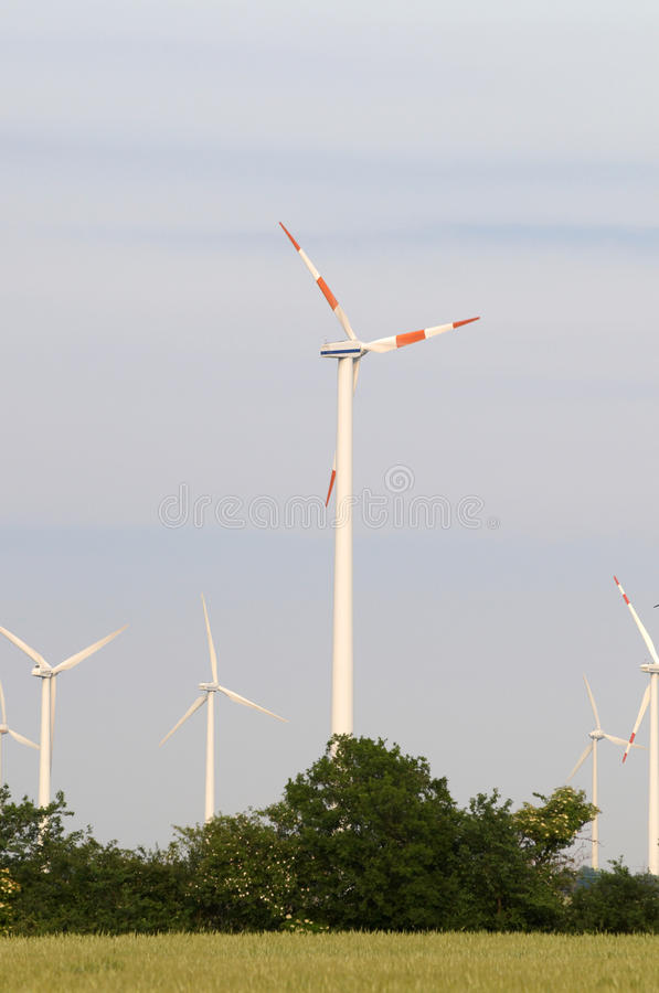 Download Wind generators stock photo. Image of nature, farm, blades - 12369072