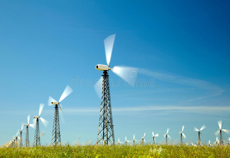 Wind Generators Stock Photos