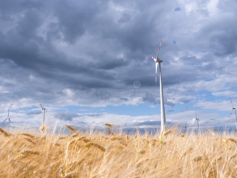 Download Wind Generators In Landscape Stock Image - Image of industrial, energy: 32205157