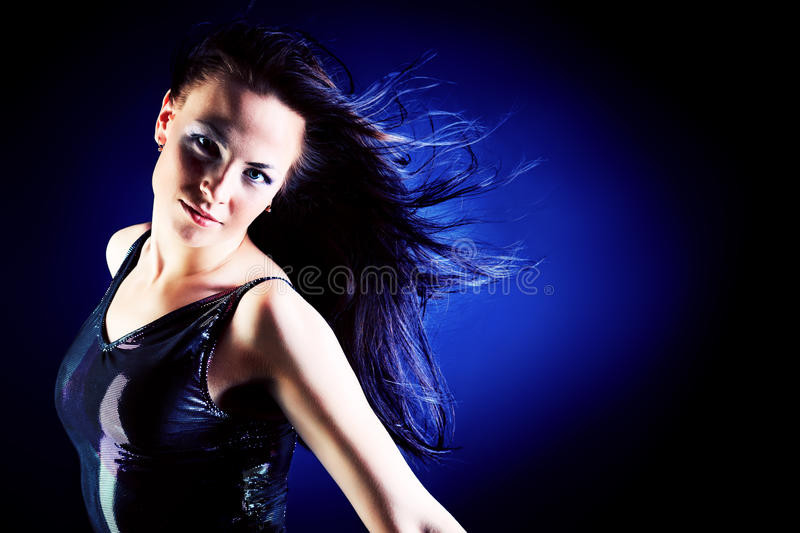 Download Wind in hair stock image. Image of dynamic, elegance - 26048081
