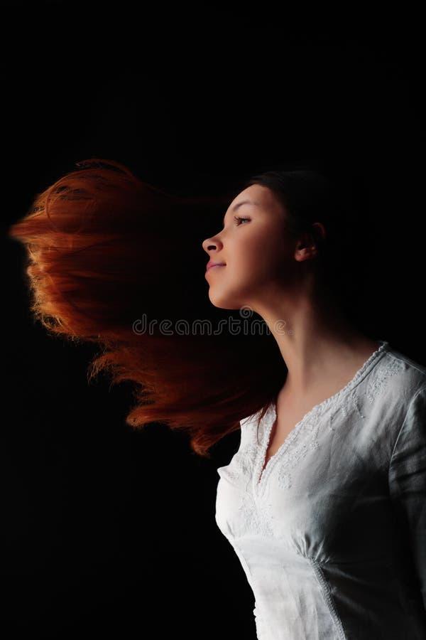 Wind in haren stock foto's