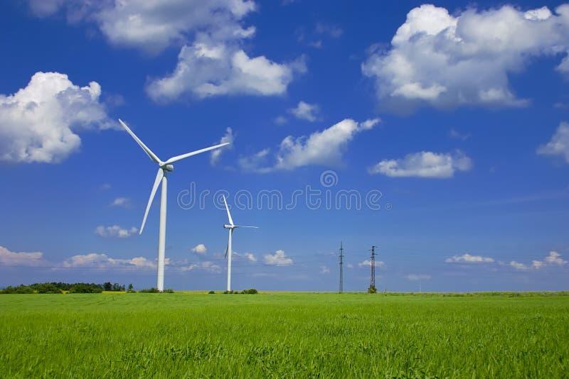Wind-Leistung stockfoto