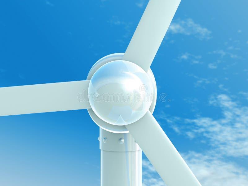 Wind-Leistung vektor abbildung