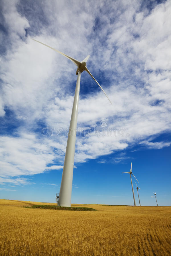 Wind macht royalty-vrije stock foto
