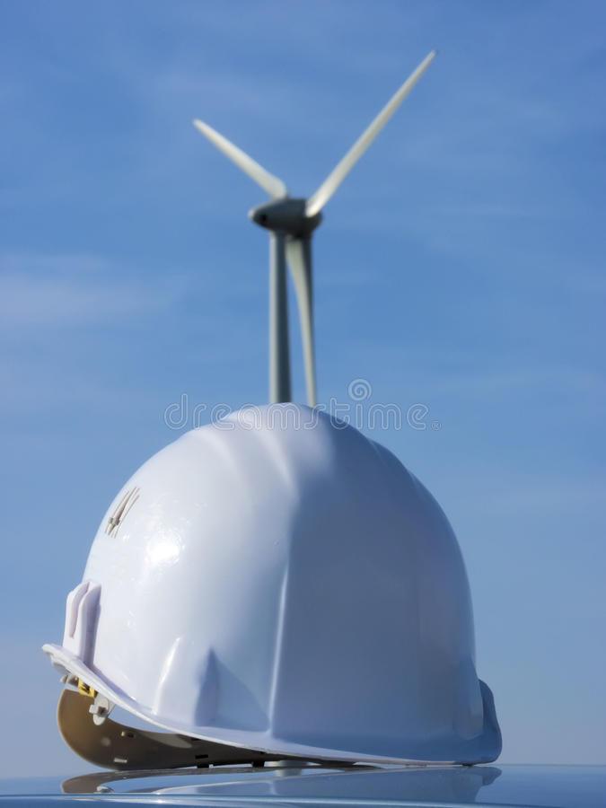 Free Wind Mil And Helmet Royalty Free Stock Image - 19017736