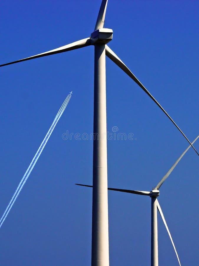 Wind mill 2 stock photo