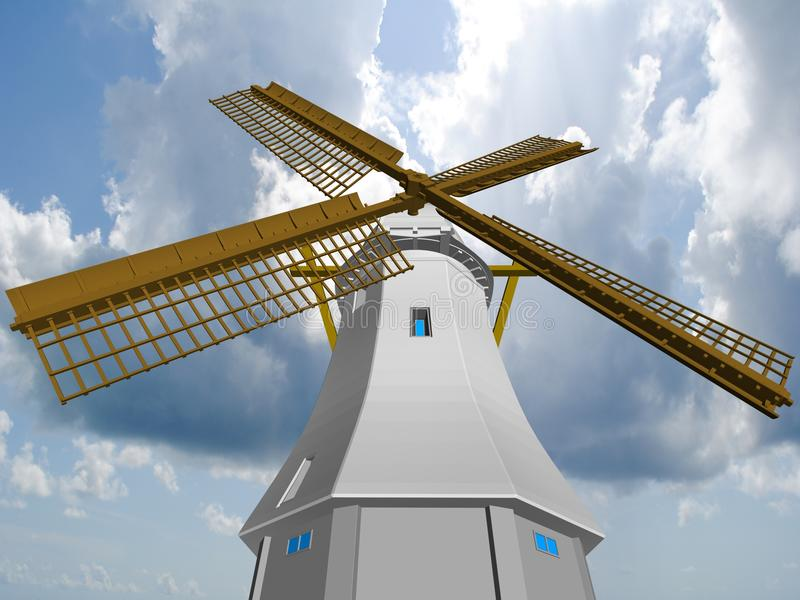 Download Wind Mill. Stock Photo - Image: 24296220