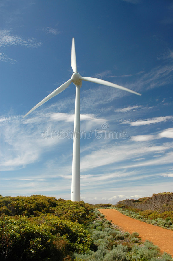 Download Wind Mill stock photo. Image of bush, high, tall, environment - 439064
